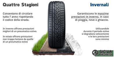 migliori pneumatici quattro stagioni